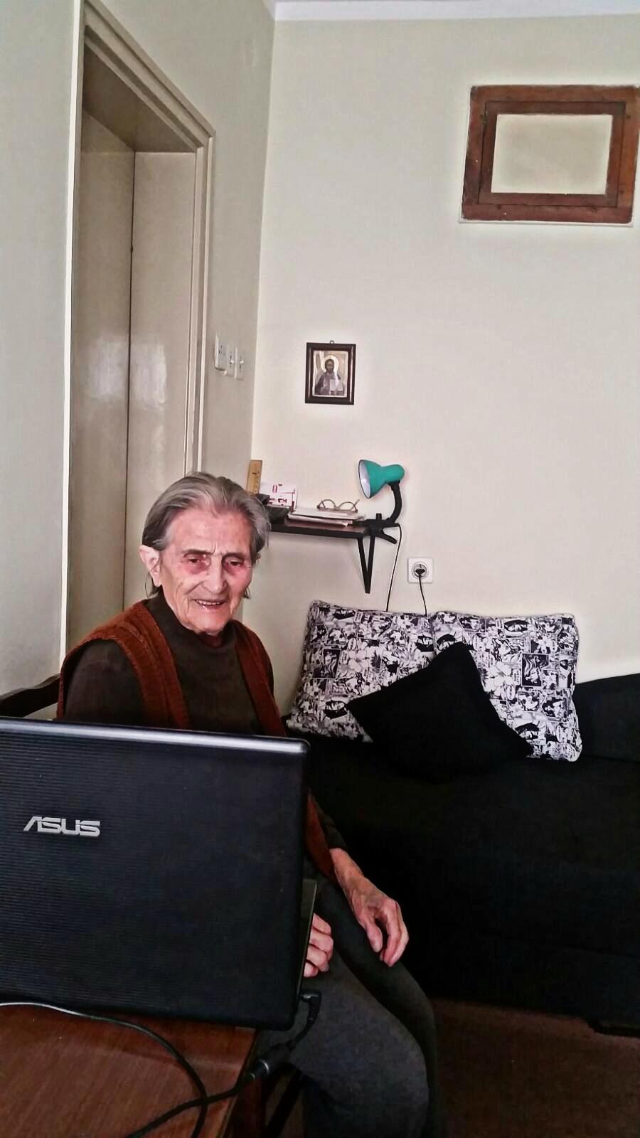 baka gleda poruku